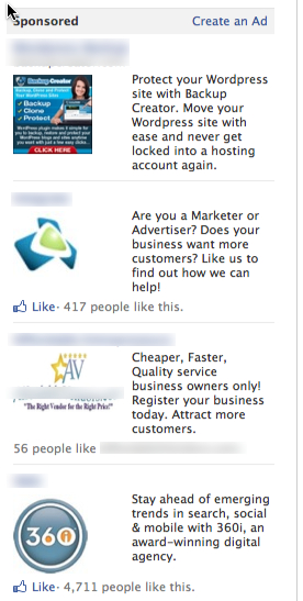 Facebook Ads cost impressions